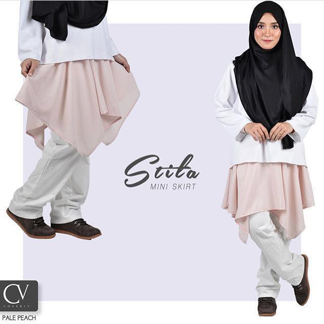 f2a79d635 Coverly Stila miniskirt/muslimah skirt, Women's Fashion, Clothes, Others on  Carousell
