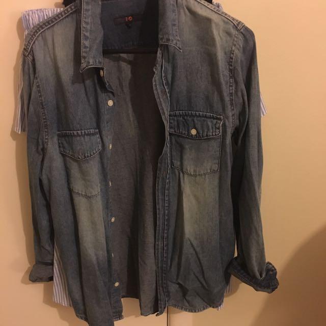 Denim shirt/jacket