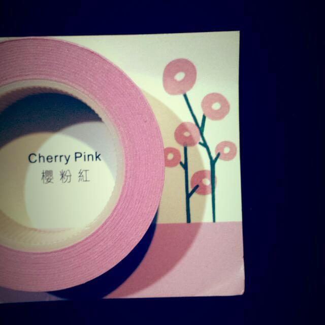 [Discounted] Cherry Pink Fun Tape (like Washi Tape)