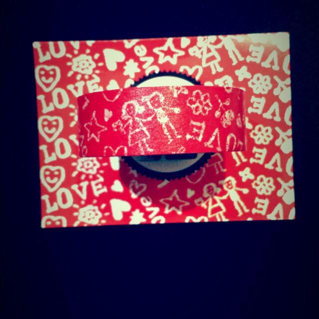 [Discounted] Doodle Love Fun Tape (like Washi Tape)