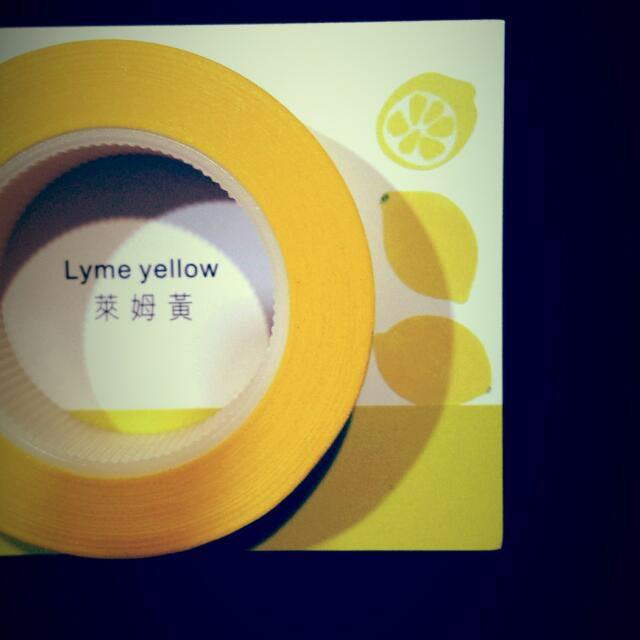 [Discounted] Lyme Yellow Fun Tape (like Washi Tape)