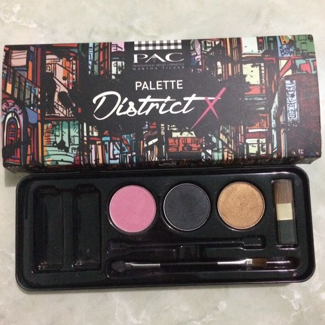 District X palette