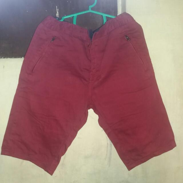 Dyse One Size 28 Stretchable Red Short