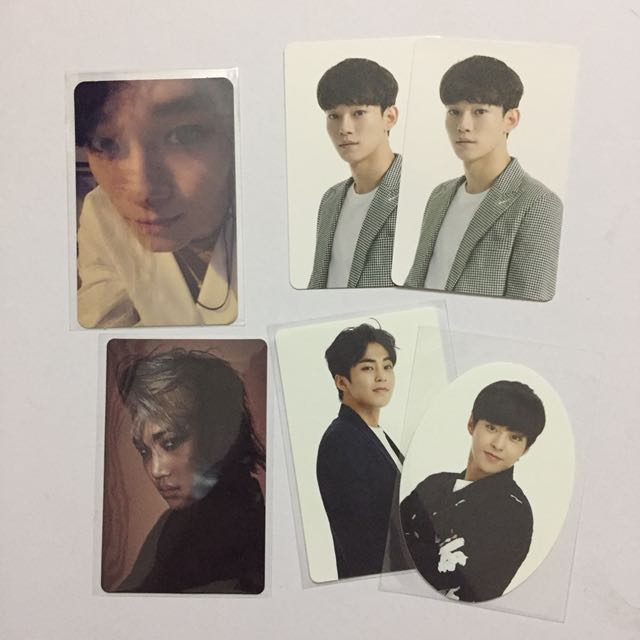 EXO Official Assorted Photocards