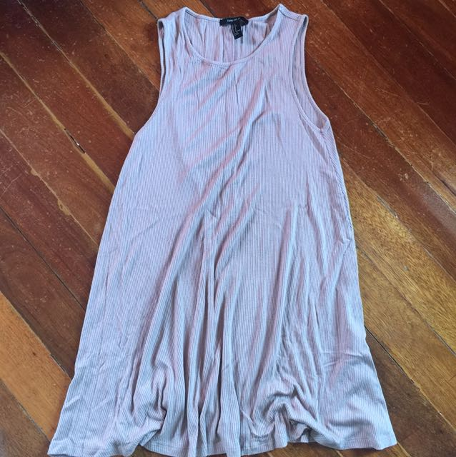 F21 Nude Dress (very nice in actual) Med size