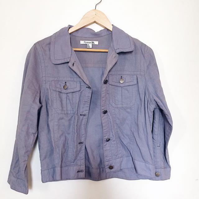 F21 soft jacket