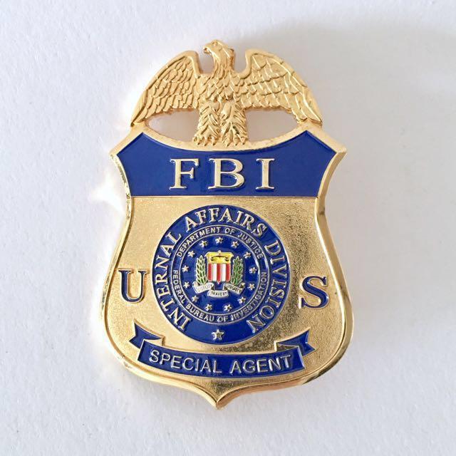 Fbi Cars For Sale >> Federal Bureau Investigation FBI Internal Affairs Division US Special Agent Badge Rare ...