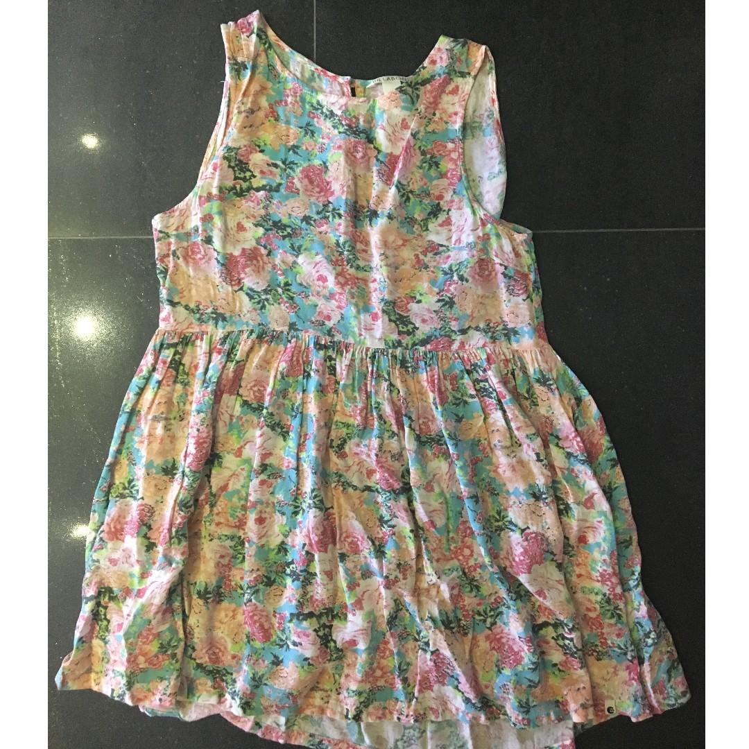 Floral billabong summer dress