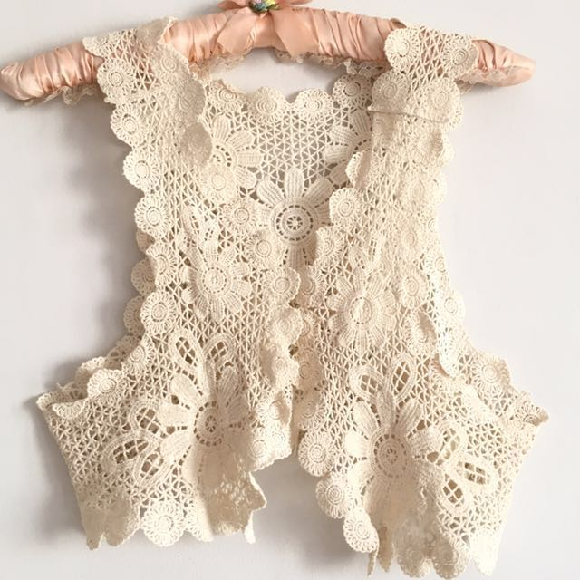 Flower Knitted Outer