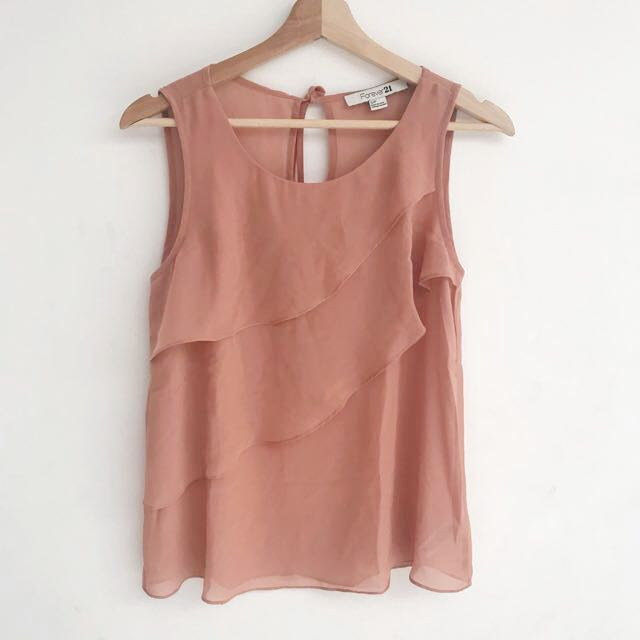 Forever 21 - Dusty Pink Layer Top