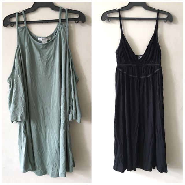 Forever 21 cold shoulder / H&M dress