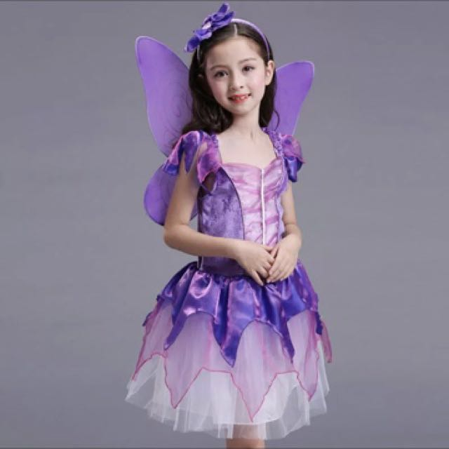 Free mail fairy costume girl costume for toddler 110cm babies mail fairy costume girl costume for toddler 110cm sciox Choice Image