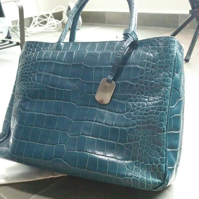 Furla Genuine Leather Handbag (Price Reduced)