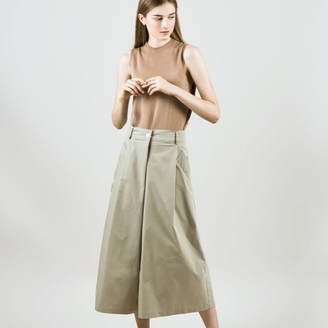 Green Culottes free size