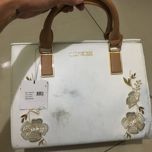 Guess bag with stain
