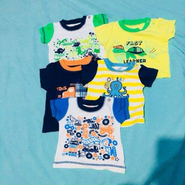 Gumble Shirts 0-9 months