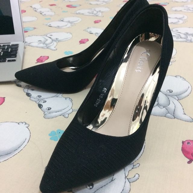 Heels Black Chic