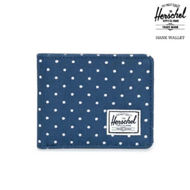 Herschel Hank Embroidered Polka Wallet