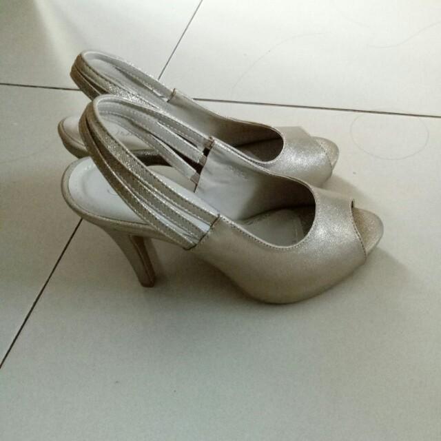 High heels gold -high quality impor-