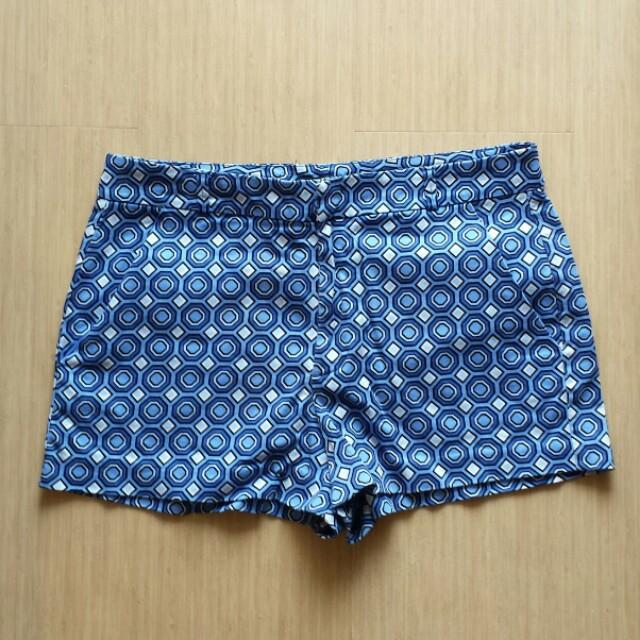 H&M geo print shorts