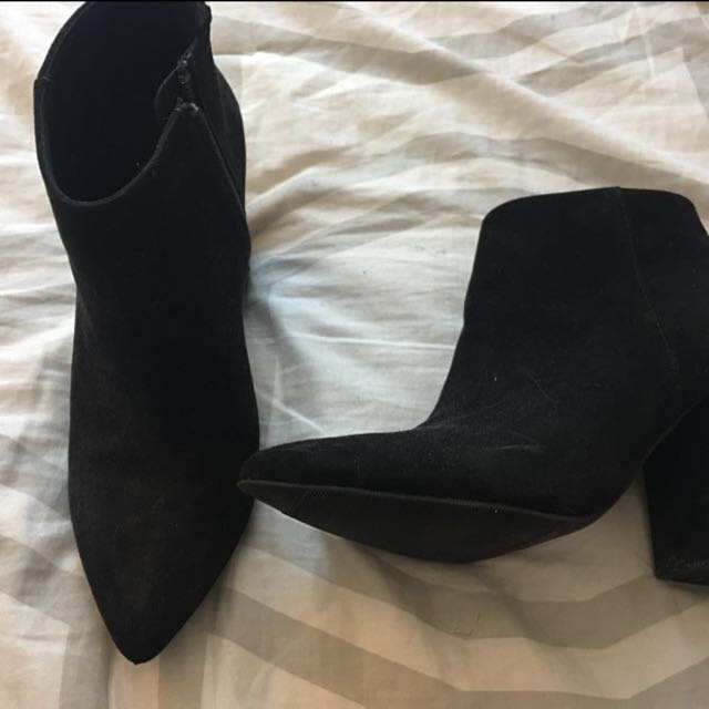 H&M heeled boots size 7