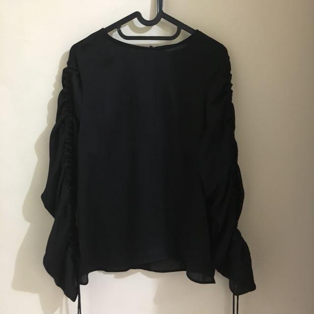 HM sheer blouse