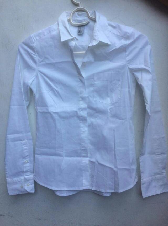 H&M White Polo Shirt