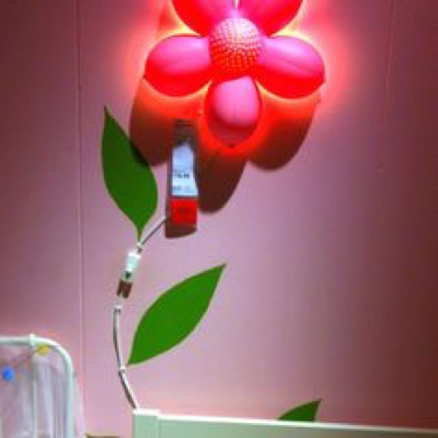 Ikea pink flower wall light services home services electrical ikea pink flower wall light ikea pink flower wall light aloadofball Images