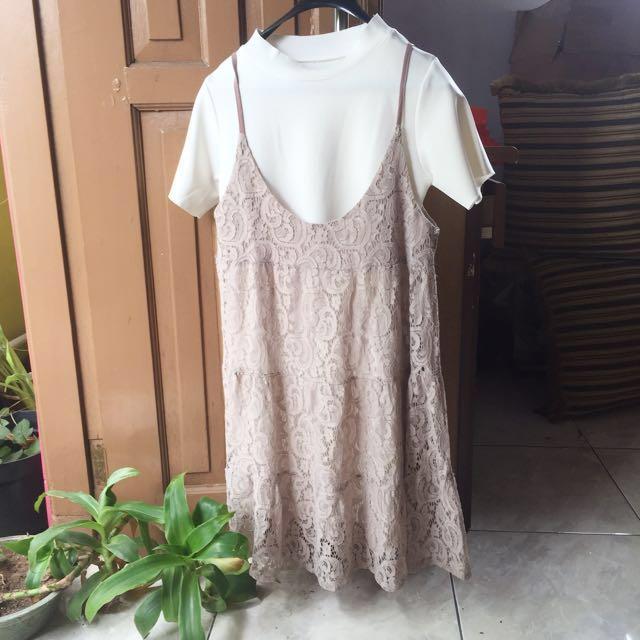 Import bangkok Inner and outer dress