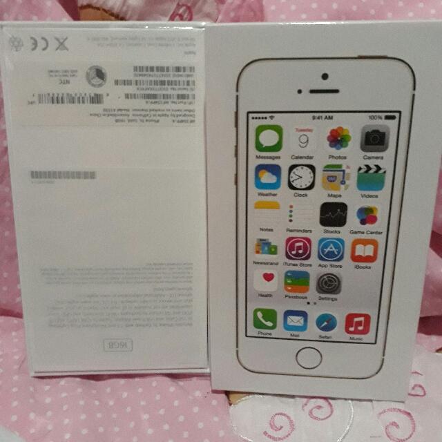 iPhone 5s 16gb FU Brandnew