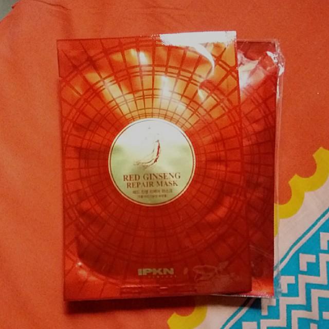 IPKN Red Ginseng Repair Mask Sheet