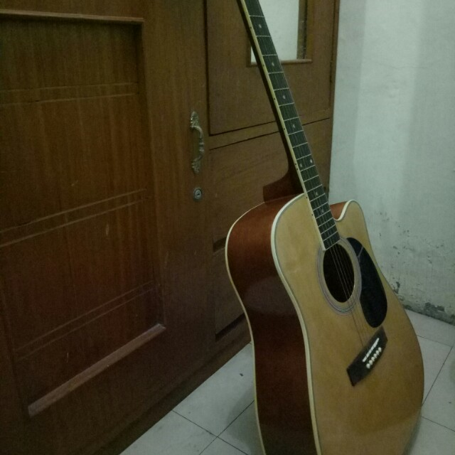Jb Music Fernando Acoustic Guitar Everything Else Others On Carousell