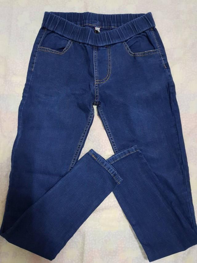 Jeging biru dongker size 28