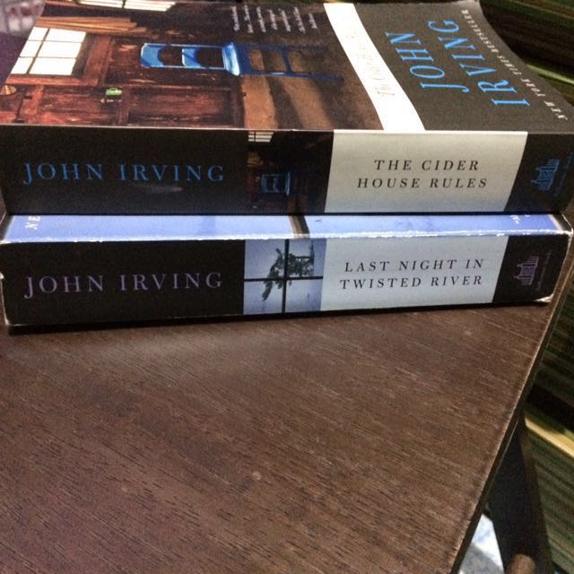 John Irving Book Bundle