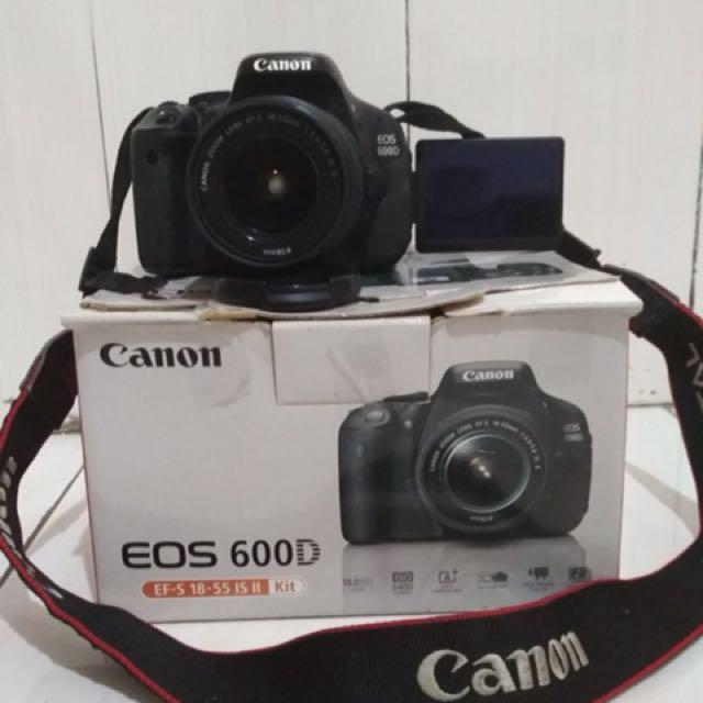 Kamera Canon Eos 600d Photography On Carousell