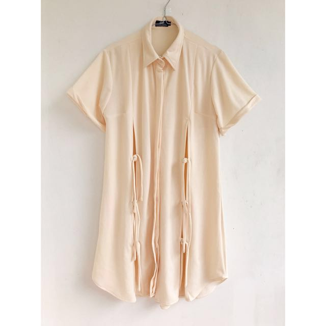 Label8Store Creme Dress