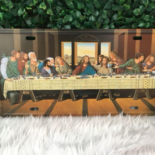 Last Supper Metal Tag decor