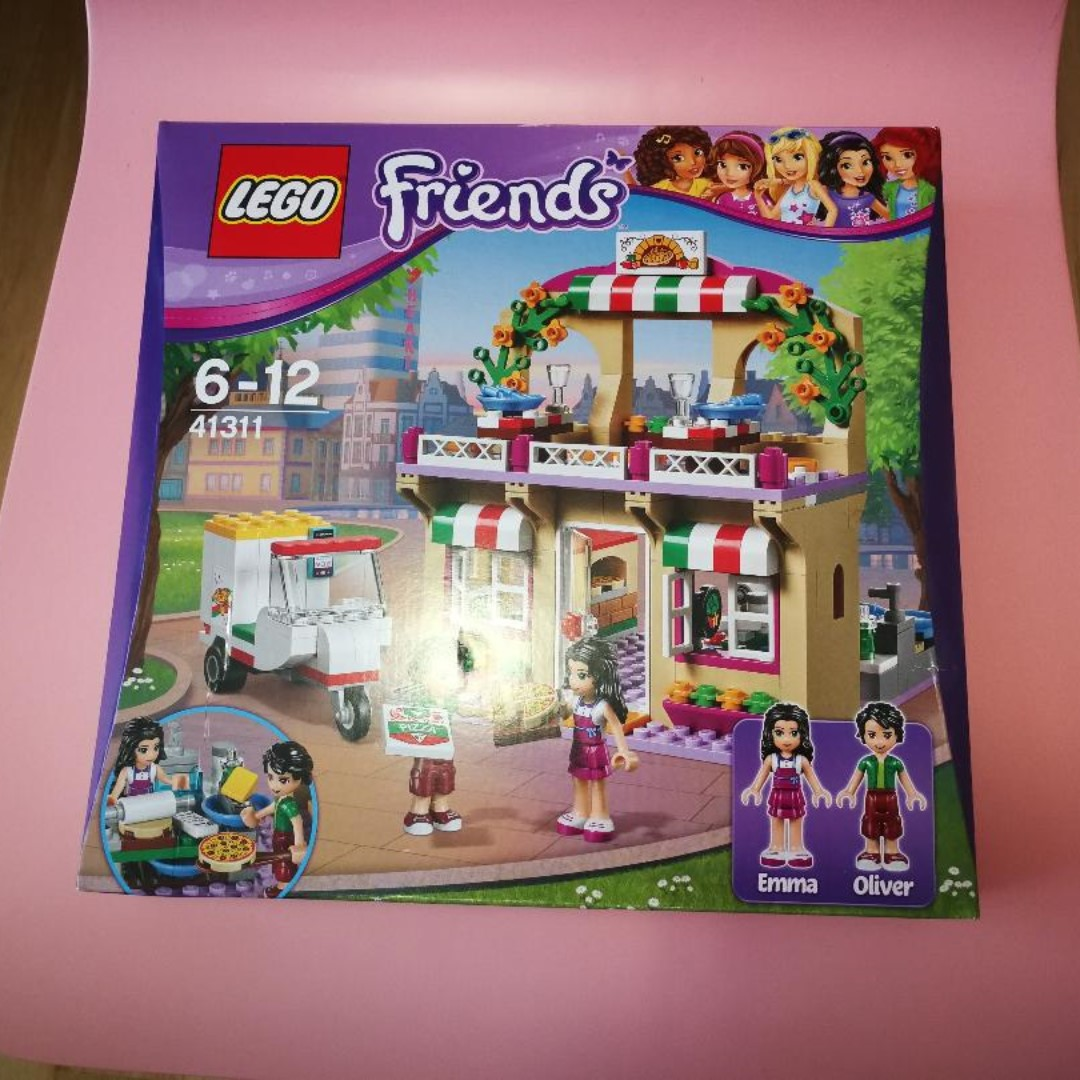 Lego Friends Heartlake Pizzeria Toys Games Bricks Figurines On
