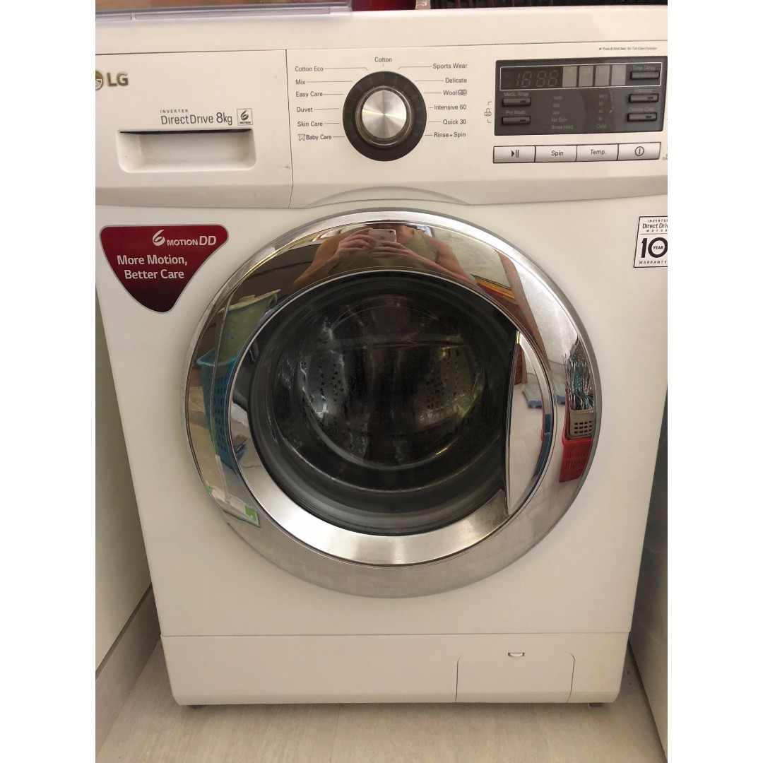 LG Washing Machine WD-1480T, Home Appliances on Carousell