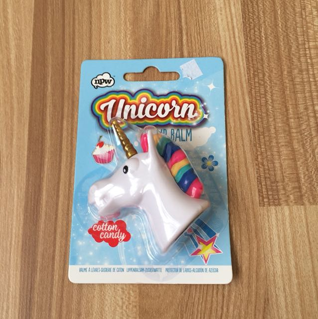 Lip balm unicorn