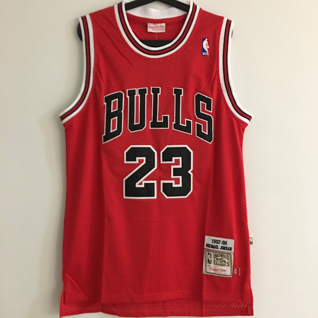 separation shoes 4795a 4f723 M) Chicago Bulls #23 Michael Jordan Basketball NBA Jersey ...