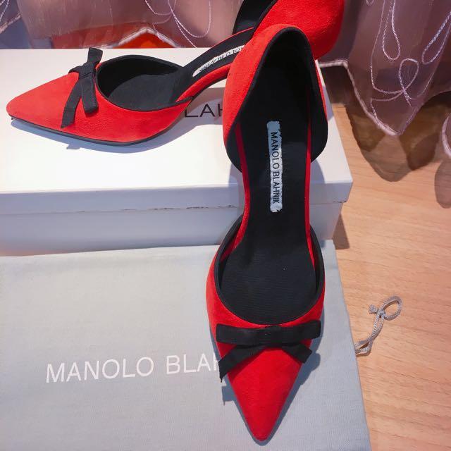 Manolo Blahnik凱莉酒杯高跟鞋