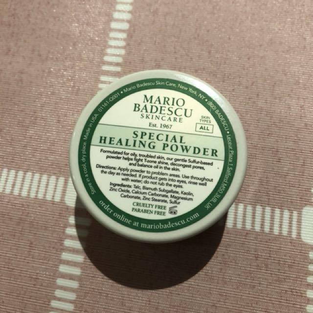 Mario Badescu special healing powder problem skin treatment