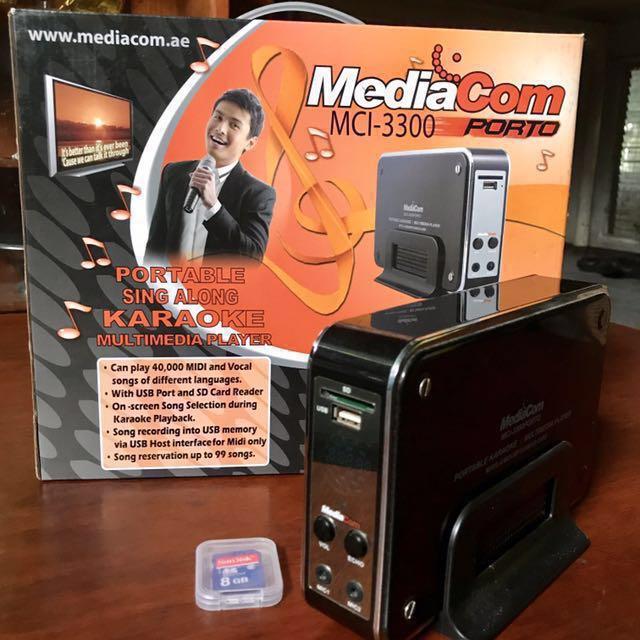mediacom karaoke song book song download