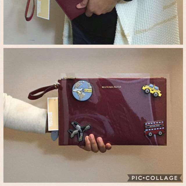 Michael Kors XL Zip Clutch