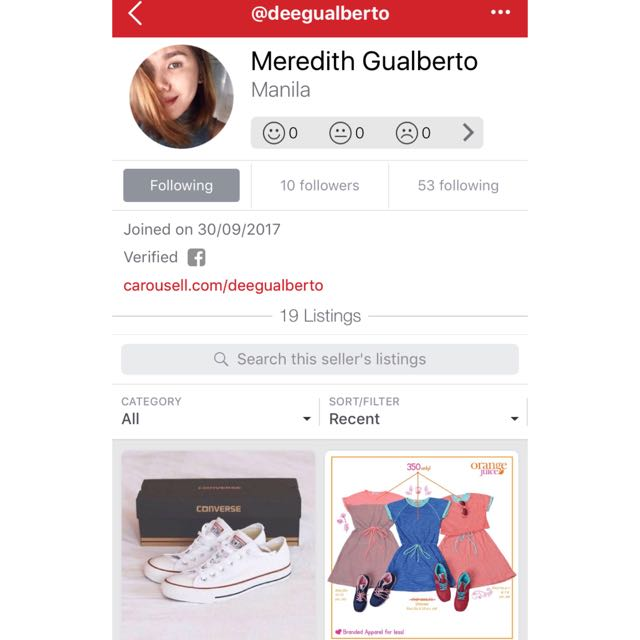 MORE CLOTHES FOR SALE! Follow @deegualberto !