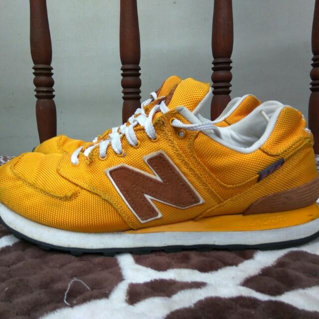 New Balance 574 Classic Backpack Yellow not adidas nike asics puma ... d8b63699e9