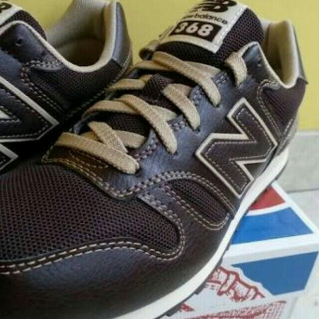 NEW BALANCE LEATHER SNEAKERS aa669e75fc