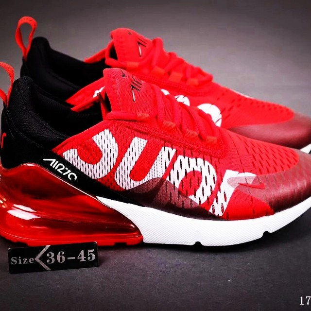 official store wholesale brand new Nike Air 270 X Supreme, Men's Fashion, Footwear, Sneakers on ...