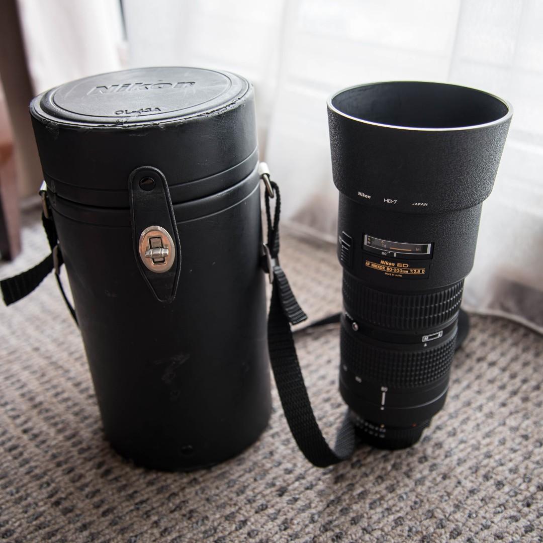 Nikon af 80-200mm f2.8d ed lens